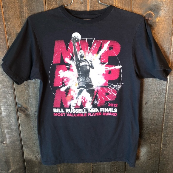 4148725da49 adidas Other - Adidas Lebron James 2012 MVP Finals T-shirt